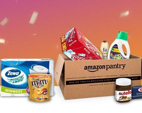 [Prime/Pantry] Vorgepackte Amazon Pantry Box kaufen - 25€ Gutschein bekommen