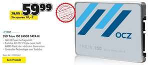 [Conrad/Redcoon] OCZ Trion 100 240GB SSD ab 52,49€ (3-Jahre ShieldPlus Garantie)