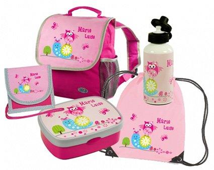 SET Kindergartenrucksack Happy Knirps® mit Name und Wunschmotiv