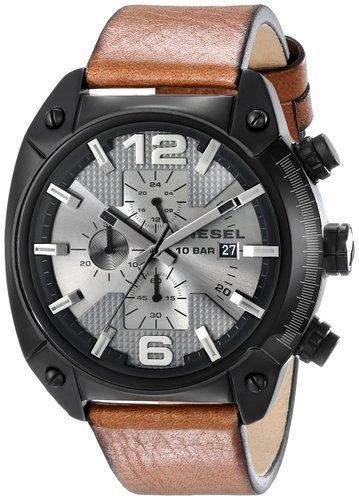 [Amazon] Diesel Herren-Armbanduhr XL Leder (DZ4317)