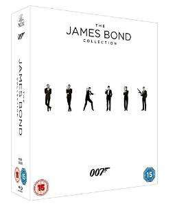 [Blu-ray] The James Bond Collection (2015) @ amazon.uk Cyber Monday Week