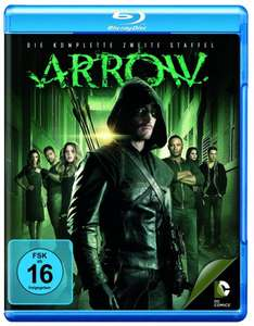 Arrow Staffel 2 Bluray für 14,97€ (Amazon), Idealo: 26€
