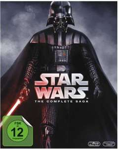 Star Wars: The Complete Saga [Blu-ray] für 67,99€ bei Thalia.de