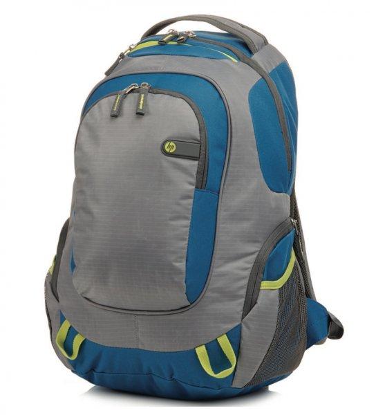 HP Outdoor-Sportrucksack (grün/blau) 30€