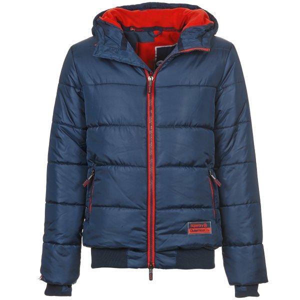 Superdry Winterjacke navy/rebell red dunkelblau Größe: S,M,L,XL, XXL für 72,95 € > [zalando.de] > Gutschein Freitag13