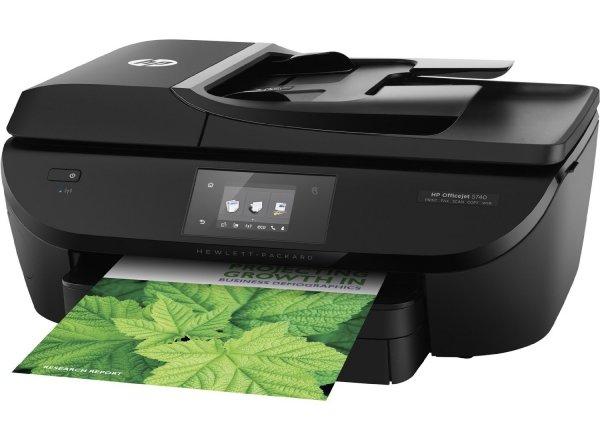 HP Officejet 5740 e-All-in-One Drucker (Scanner, Kopierer, Fax, Drucker, 4.800x1.200 dpi) schwarz inkl.Vsk für  74,28 € > [amazon.es] > Blitzangebot