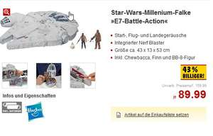 [Kaufland] Hasbro Star Wars Millenium-Falke »E7-Battle-Action« 23% unter Idealo