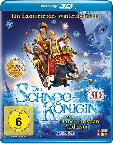 Die Schneekönigin [3D Blu-ray] für nur 7,97 EUR bis zum 29,Nov @amazon