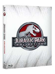 Jurassic Park - Collection 1-4 (Blu-ray) [IT Import] - deutsche Sprache inklusive @Amazon