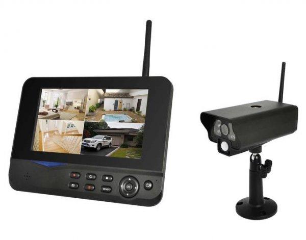 COMAG Digitales Kamera Funk-Überwachungs-Set (inkl. 7 Zoll TFT Monitor + 1x Kamera, kabellos, Nachtsicht (Infrarotkamera), erweiterbar bis zu 4 Kameras, bis zu 300 m, Aufnahmefunktion...) für 129€@Allyouneed