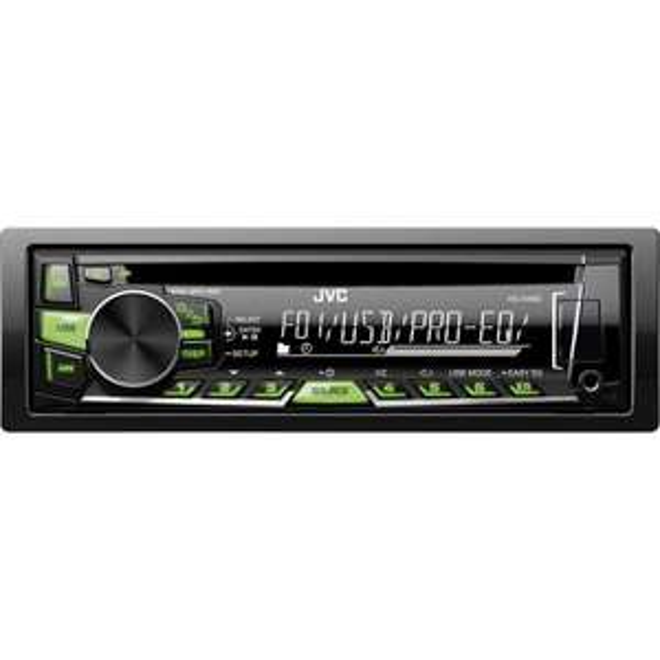 JVC KD-R469E Autoradio USB/CD-Receiver mit Front-AUX für 42,54 € bei Conrad.de