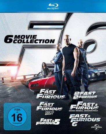Fast & Furious 1-6 (Blu-ray) für 19,76€ inkl. Versand bei Media Dealer
