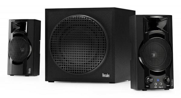 Hercules XPS 2.1 Bassboost 2.1 PC-Lautsprechersystem für 28,79 € bei Voelkner.de