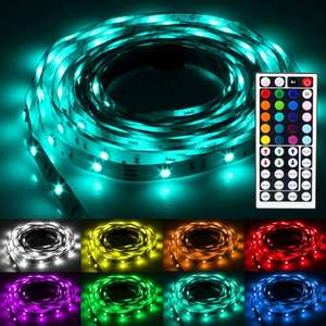 Ebay ) Flash30 5m RGB LED Strip e Band Kette Streifen Leiste Leuchte Lichterkette IP20