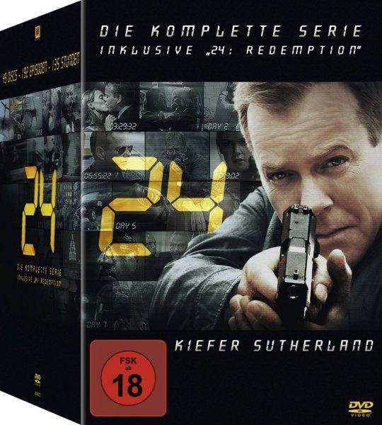 (Amazon Blitzangebot) 24 - Die komplette Serie (inkl. 24: Redemption) für 44,97€