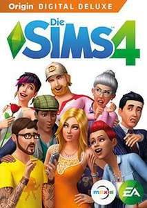 Die Sims 4 digital Origin Key Standard 24,99/ Deluxe 29,16