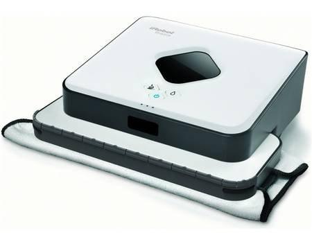 [Technik Profis] iRobot Braava 390 T Staubwisch-Roboter weiß/schwarz