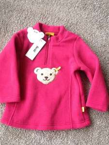 Steiff Fleece mit Teddy & Quitsche Aktionspreis