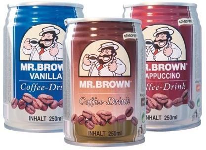 Mr. Brown Cappuccino an der Shell für nur 1,50 €