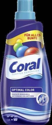 [dm offline] Coral Optimal Color Flüssigwaschmittel 3für2 + 300ml Gratis