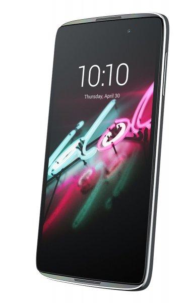 Alcatel One Touch Idol 3 4G Smartphone UNLOCKED (5,5 Zoll) Display, 16 GB, Android 5.0 Lollipop) silber für 231,19 € @ Amazon.de