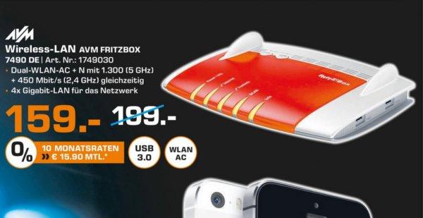 (Lokal) AVM FRITZ!Box 7490 für 159€ @ Saturn Duisburg