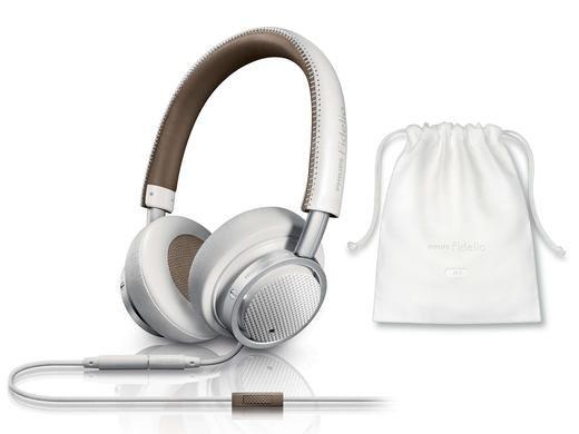 Philips bei Ibood Kopfhörer Deals Fidelio On-Ear-Kopfhörer mit Mikrofon M1MKIIWT/00