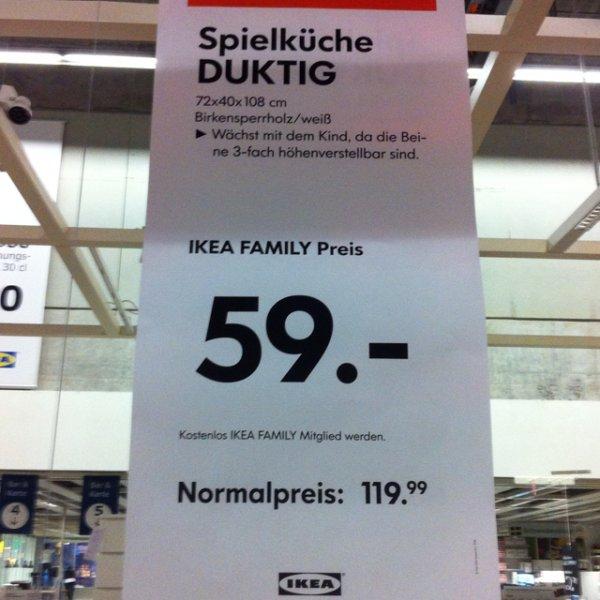 Ikea Duktig Spielküche mit Aufsatz für 59€