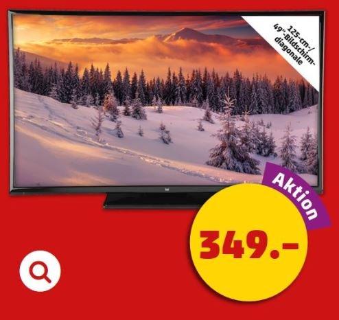 """[Penny] 49"""" LED-Smart-TV für 349 € ab Donnerstag, 3. Dezember 2015"""