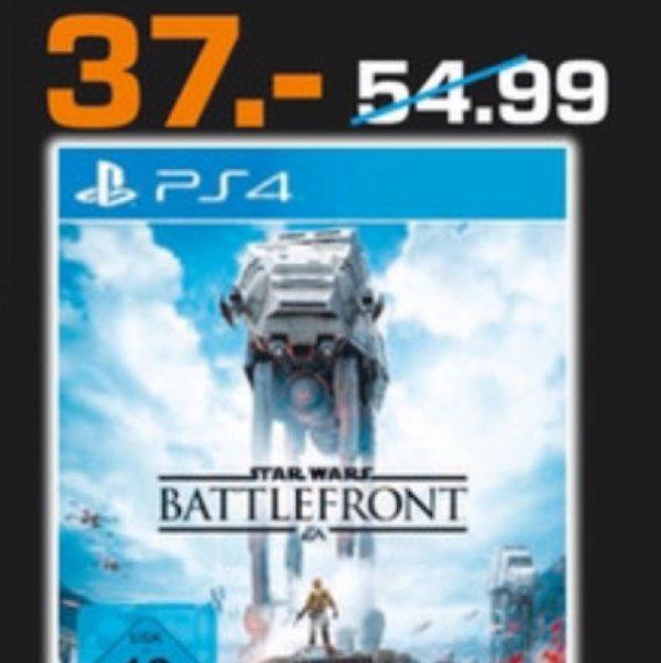 Star Wars Battlefront PS4 im Saturn Magdeburg für 37€