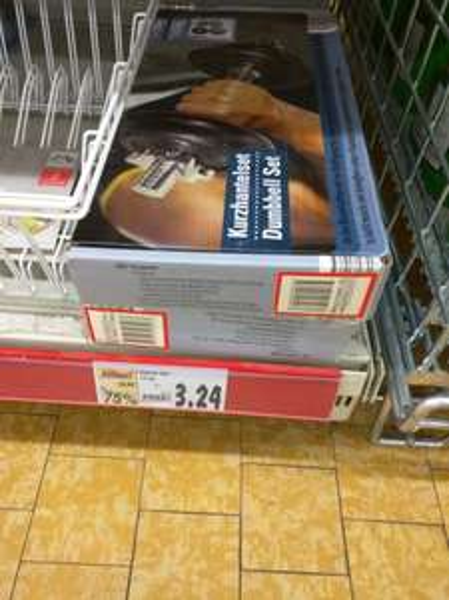 (Lokal) Kaufland- Aalen Kurzhantelset 10kg für 3.24€