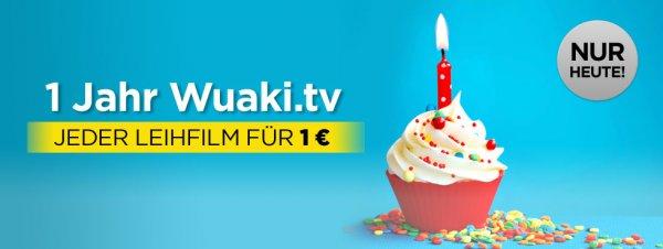 [wuaki.tv] einen Film nach Wahl in HD für 1 Euro leihen