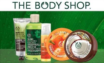 [The Body Shop] 10 Produkte (z.B. Body Butter, Eyeliner, BB Cream) im Bundle im Wert von 128€ für 46€