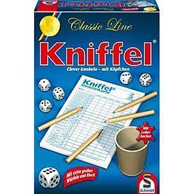 Kniffel Klassisch - Würfel, Becher großer Kniffelblock lokal bei Kaufhof vor Ort