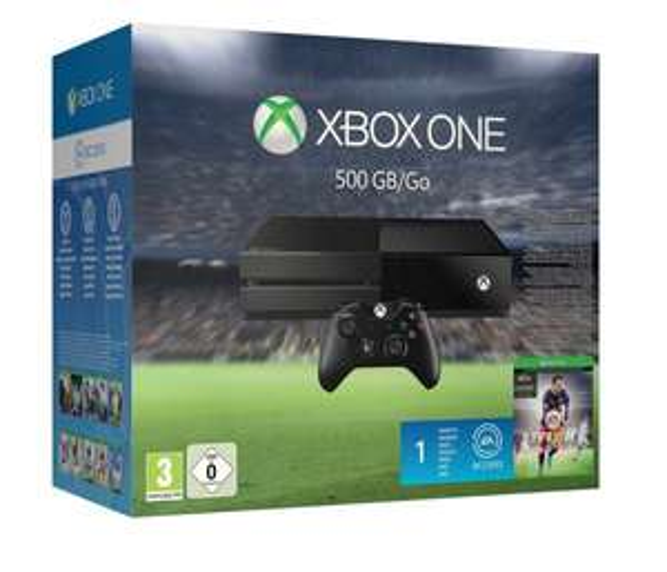 [Amazon] Fifa-Bundle (Xbox One 500GB inkl. FIFA 16 + 1 Monat EA Access gratis) [299€]