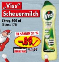 [PICKS RAUS] Viss Scheuermilch 500ml für 0,67€ (Angebot+Coupies)