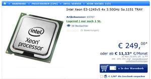 Intel Xeon E3-1245v5 4x 3.50GHz So.1151 TRAY Mindstar mindfactory