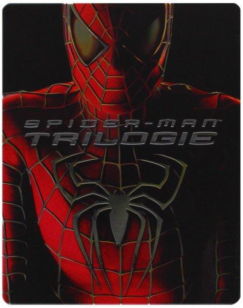 Spider-Man 1 - 3 Steelbook [Blu-ray] für 12,97€ bei Amazon (Prime)
