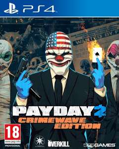 Payday 2: Crimewave Edition (PS4 &  XboxOne) inkl.Vsk für 29,85€ > [amazon.es]