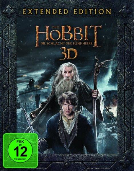 Lokal Media Markt Eisenach (eventuell auch Bundesweit) Der Hobbit - Die Schlacht der 5 Heere - Extended Edition 5-Disc-Set 3D (inkl. 2D)