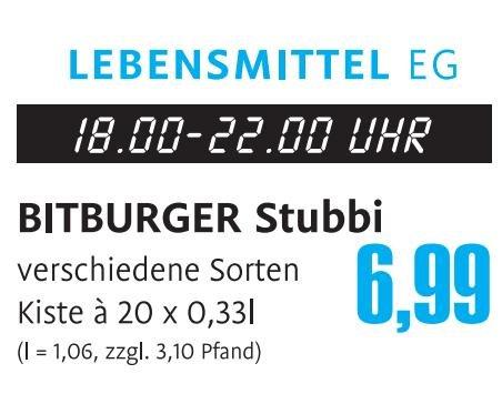 [Lokal - Bungert Wittlich] Stubbi für 6,99€ + Pfand