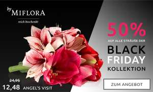 [Black Friday] -50% bei Miflora // +10% qipu