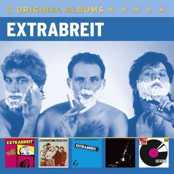 Amazon Prime : CD Extrabreit  - 5 Original Albums Box-Set - je Nur 9,97 €