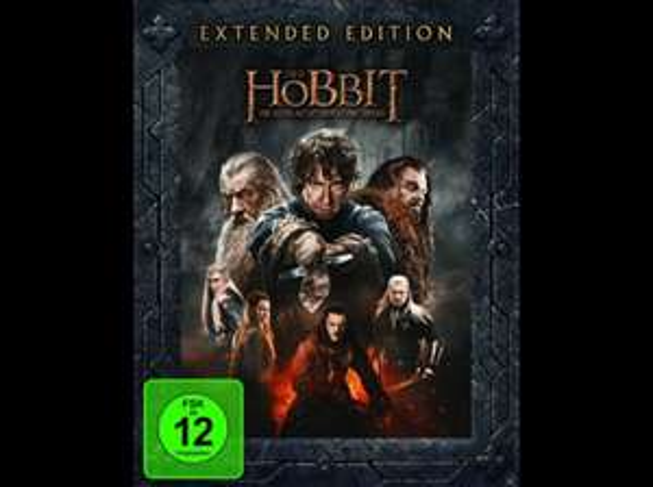 (Saturn.de) Der Hobbit: Die Schlacht der fünf Heere (Extended Edition) [Blu-ray] bei Abholung für 19,90€