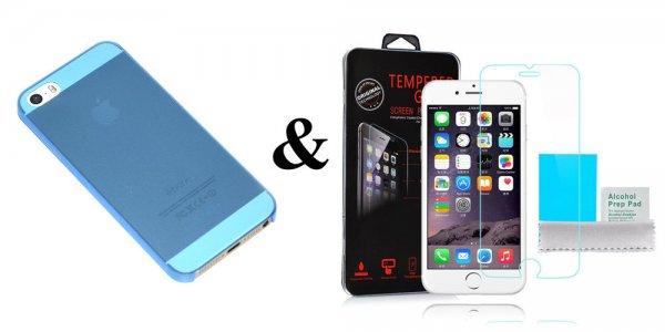 Ultraslim Cover für Iphone & Samsung Schutz Hülle TPU Tasche TOP + 9H Panzerglas