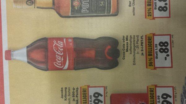 [Lokal Hamburg] Kaufland Coca Cola 2L 0,88€
