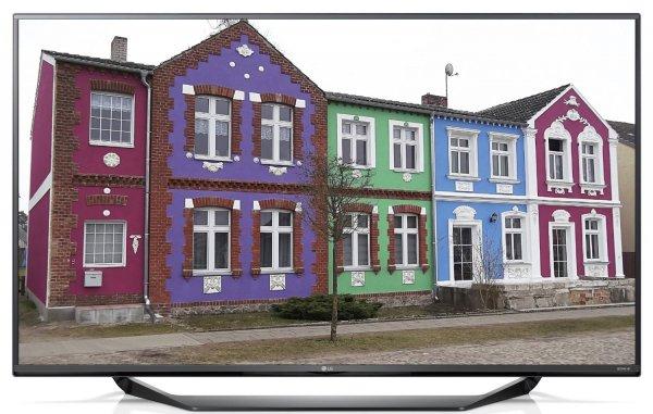 LG 55UF675V 139 cm (55 Zoll Ultra HD Fernseher (Triple Tuner, PVR ready, CI+) für 599€ bei Amazon.de
