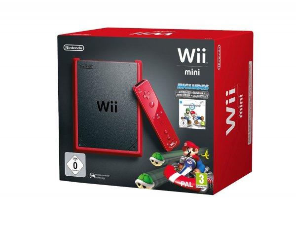 [Amazon Tagesdeal] Rote Wii Mini Konsole mit Mario Kart für 89.99€