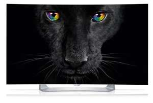 (Amazon Cyber Week) LG 55EG9109 139 cm (55 Zoll) Curved OLED Fernseher (Full HD, Triple Tuner, 3D, Smart-TV)
