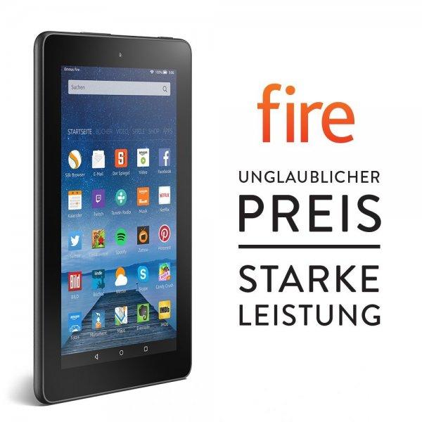 [Amazon]Fire, 17,7 cm (7 Zoll) Display, WLAN, 8 GB - mit Spezialangeboten fuer nur EUR 49,99